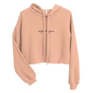 Remember the Magic Crop Hoodie