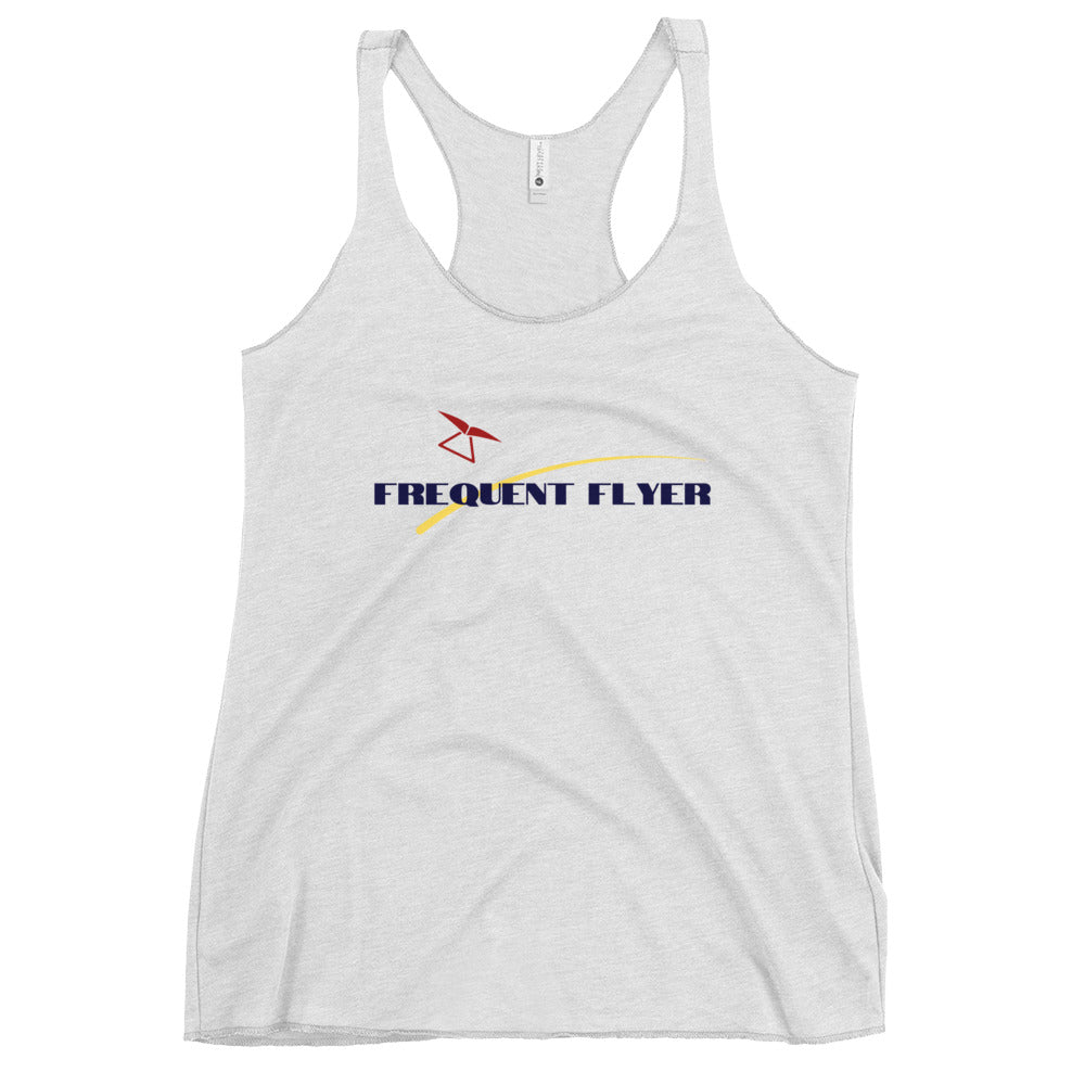 Frequent Flyer Women's Racerback Tank