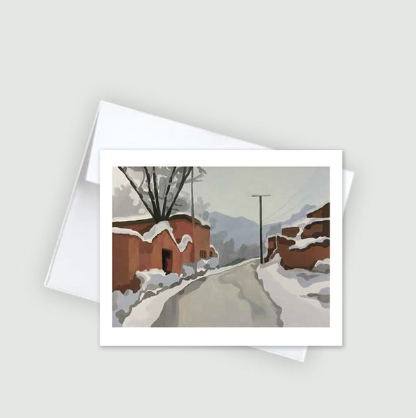 After The Snow :: Note Card