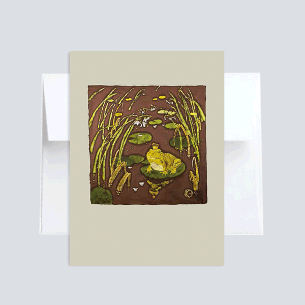 The Frog Prince :: Note Card