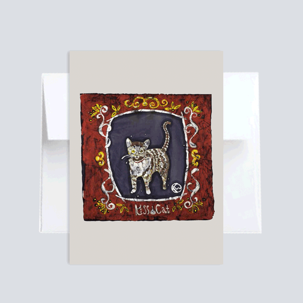 Kiss Cat :: Note Card