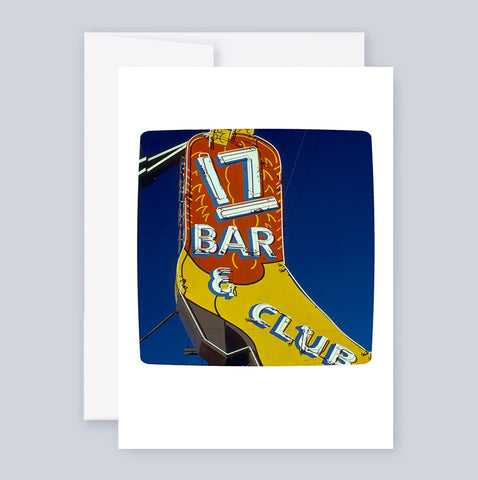 17 Bar & Club :: Note Card