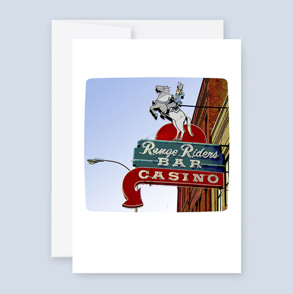 Range Riders Bar & Casino :: Note Card