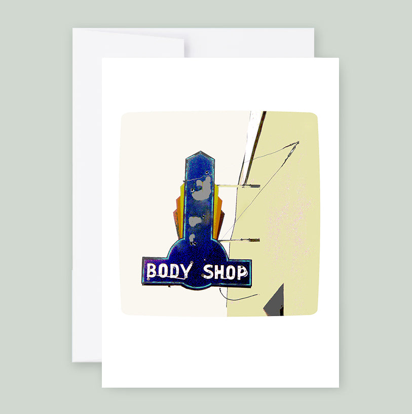 Body Shop :: Note Card
