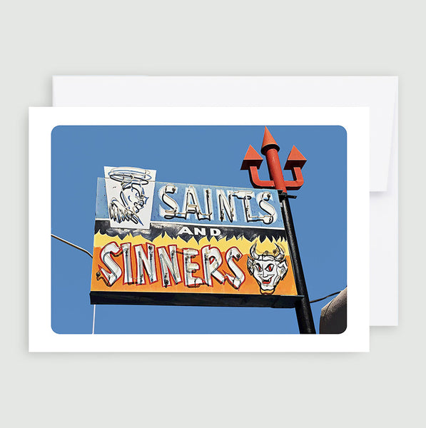 Saints And Sinners Bar