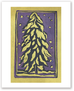 Winter Tree :: Note Card