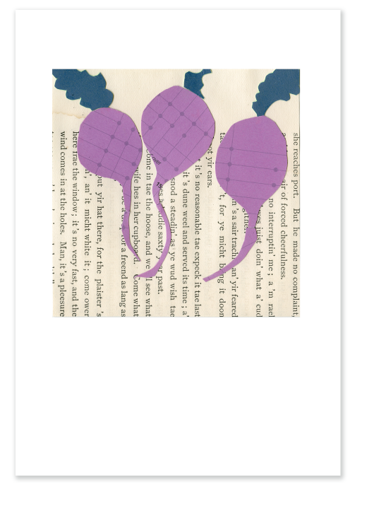 Three Beets (version two) :: Note Card