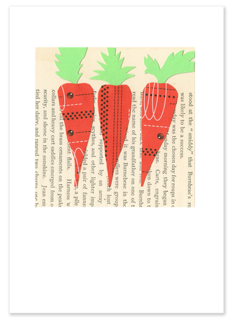 Three Carrots :: Note Card
