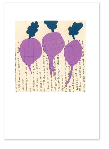 Three Beets (version one) :: Note Card