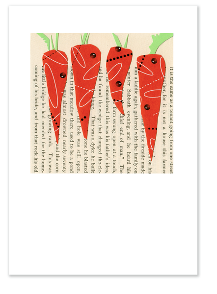 Four Carrots :: Note Card