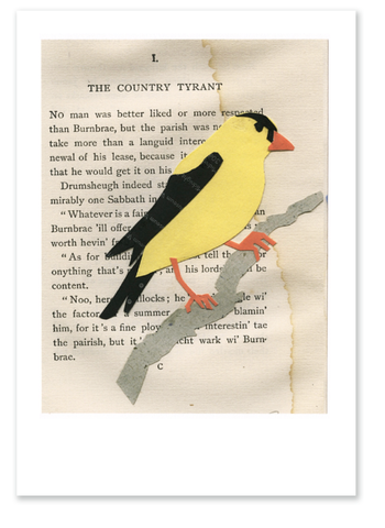 Goldfinch :: Note Card