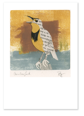 Meadowlark :: Note Card