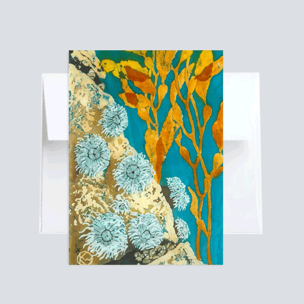 Sea Anemones :: Note Card