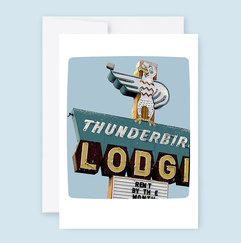 Thunderbird Lodge :: Note Card