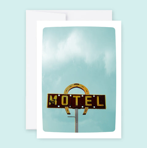 Horseshoe Motel :: Note Card