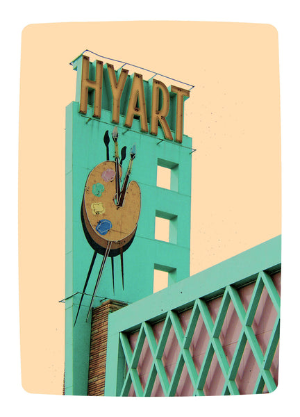 Hyart Theater :: Note Card