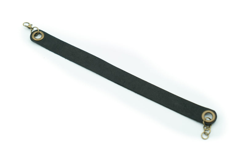 Black - Leather Bracelet
