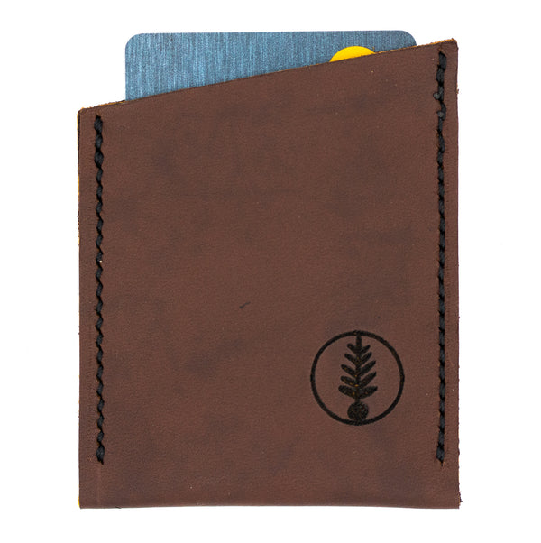 Brown - B52 Slant Card Wallet
