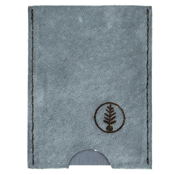Dusty Blue Suede - B52 Push-Up Card Wallet