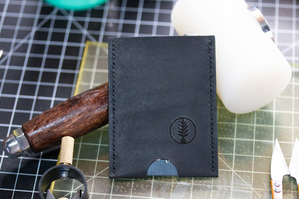 Black - B-52 - Push-Up Card Wallet