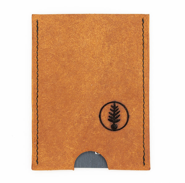 Cognac - B52 Push-Up Card Wallet