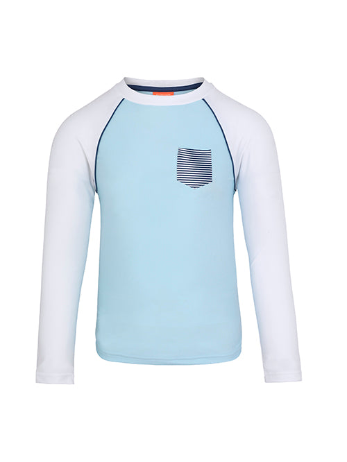 Tee shirt de bain anti UV- SKY BLUE