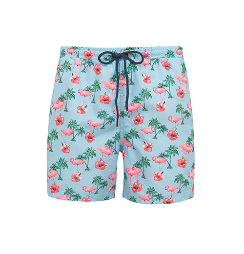 Short de bain Hommes anti-UV FLAMINGO