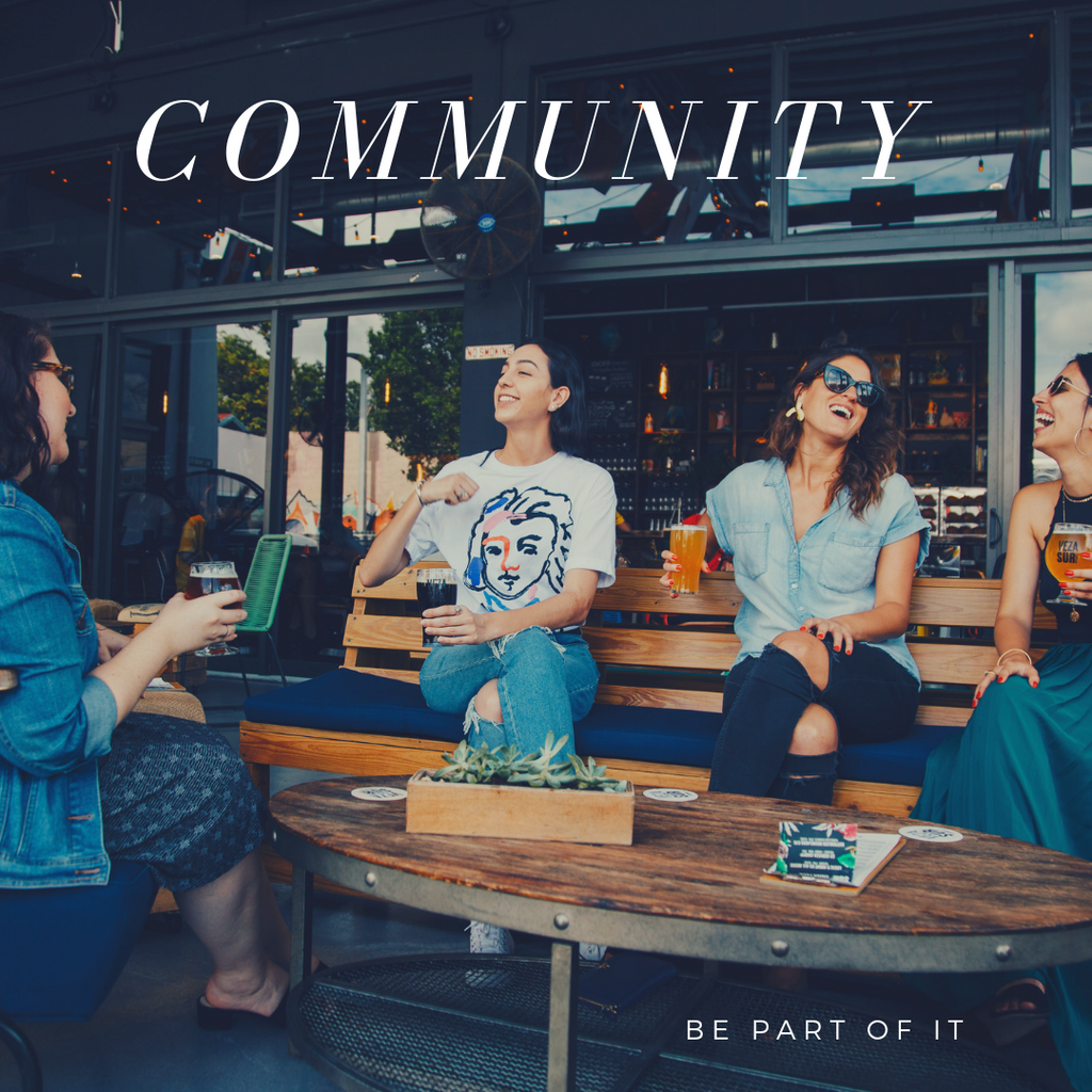 Community - be part of it