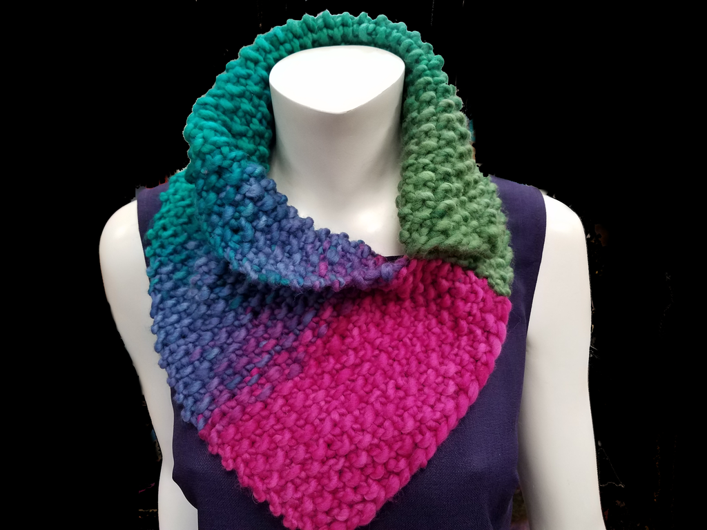 Collared Cowl in Freia