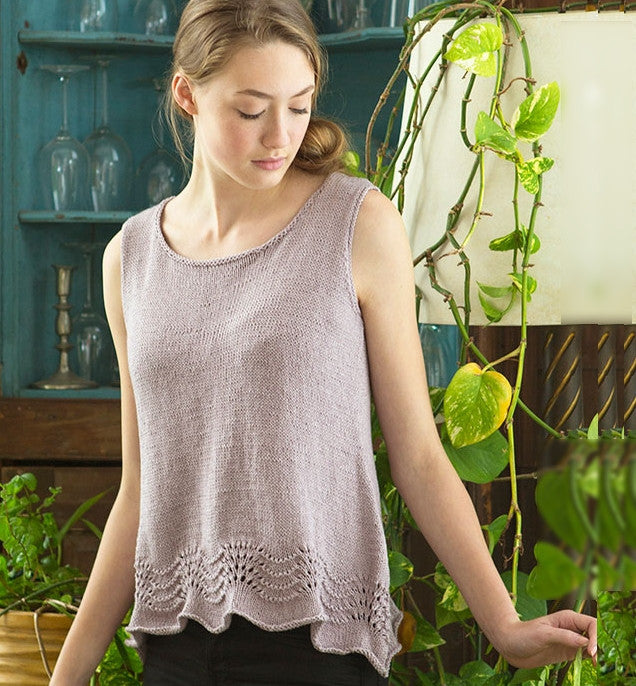 Inez tank - a lovely free pattern