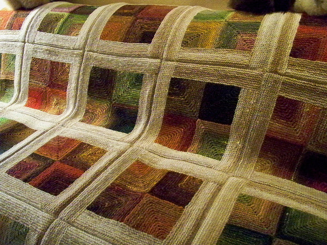 The Next Noro Knit Blanket