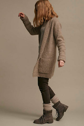 No Plain Jane Cardigan Wool Addicts