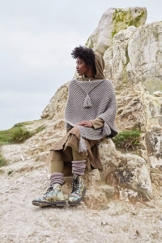 WOOLADDICTS Poncho in Air