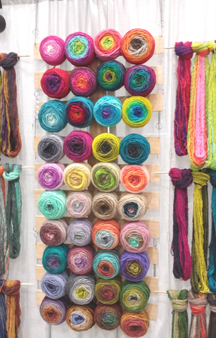 Freia yarns at Crazy for Ewe
