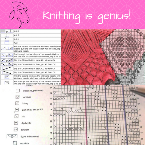 Knitting is genius