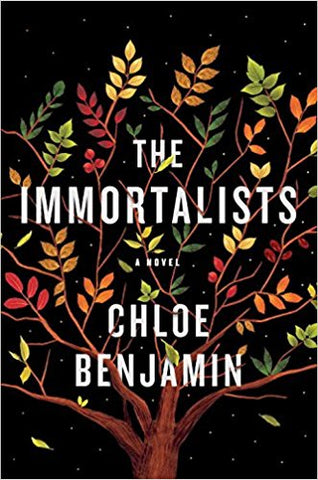 The Immortalists - Crazy for Ewe April 2018 Book Club selection