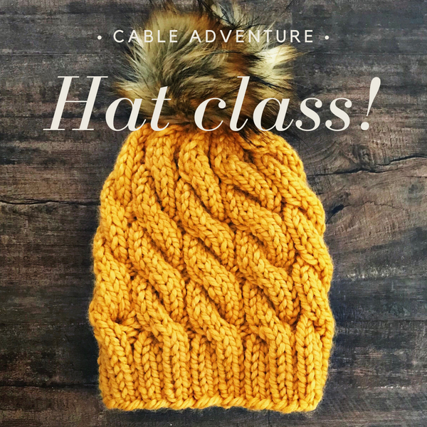 Cabled Hat Class