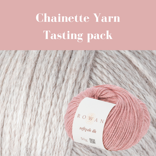Chainette Yarn tasting pack