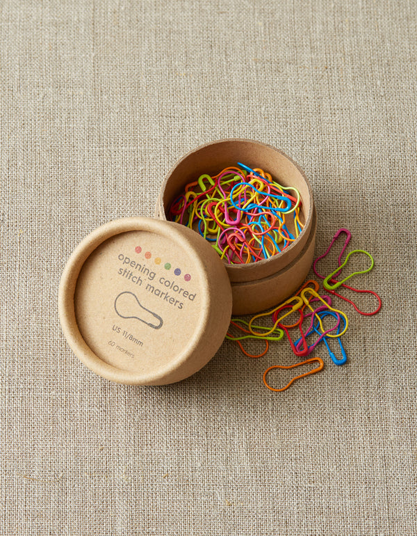 Opening Colored Stitch Markers