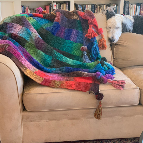 Noro Color Waves Afghan Kit