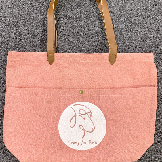 Embroidered Logo Tote