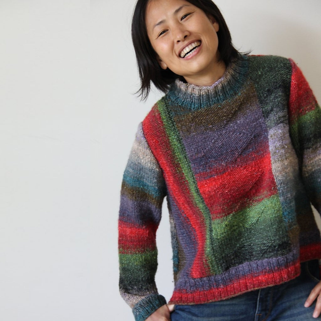 Noro Silk Garden Hi-Low Pullover Kit