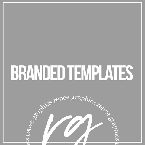 Branded Templates (Set of 4)