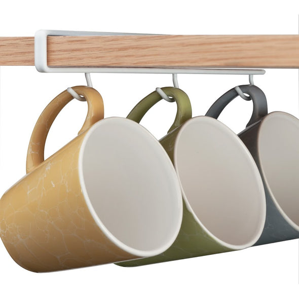 Undershelf Cup/Mug Hooks (Set of 2)