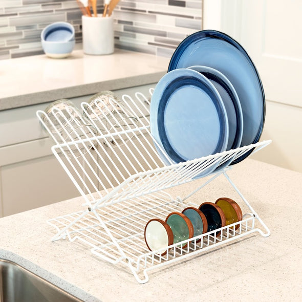 Jr. Folding Dish Rack