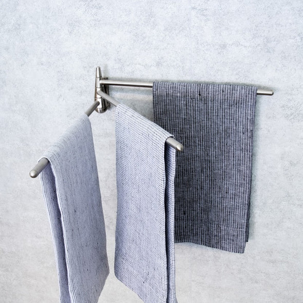 Stainless Steel 3-Arm Towel Bar