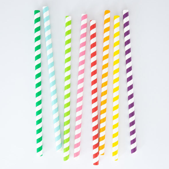 Long Lasting Extra-Wide Paper Straws