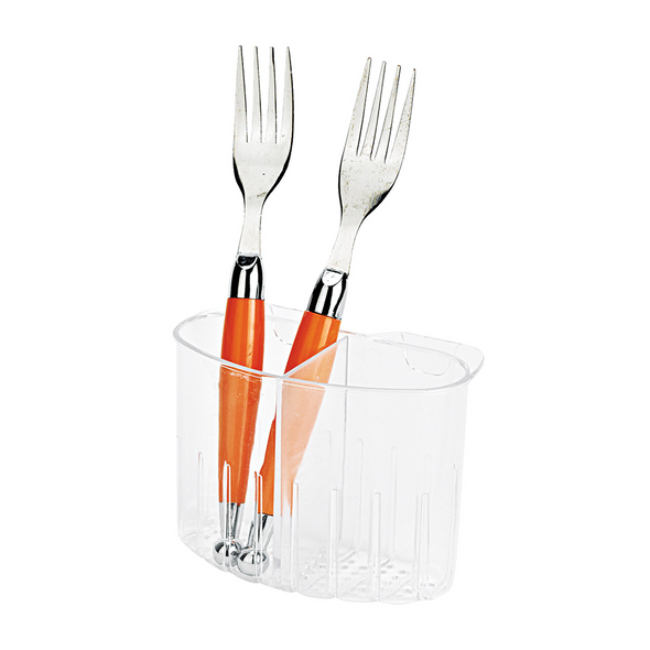 Clear Cutlery Caddy Hook-On