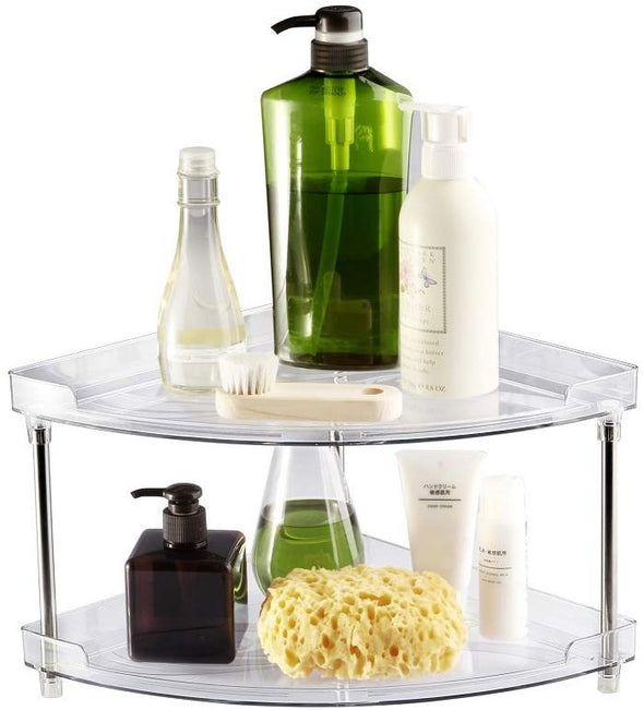Acrylic Corner Storage Shelf