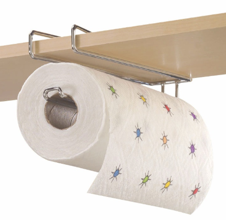 Undershelf Paper Towel Holder